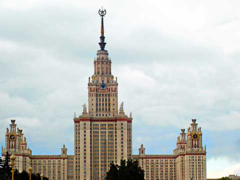 Moscow University in Russia
